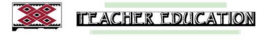 United Tribes Teacher Education